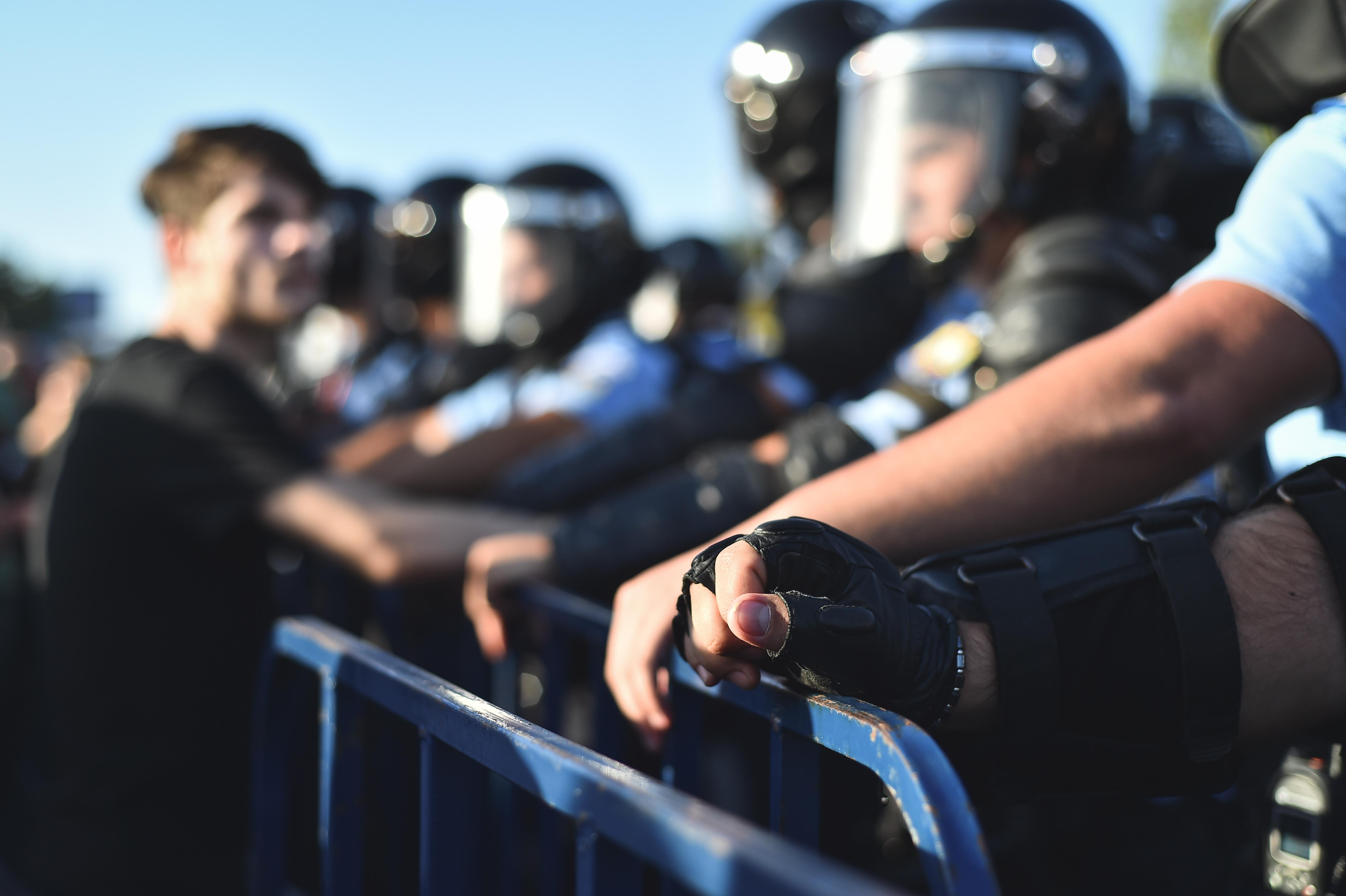 geweld tegen de politie